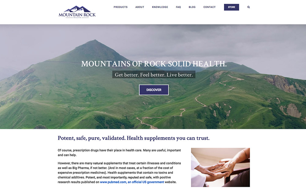 Mountain-Rock-Health-project