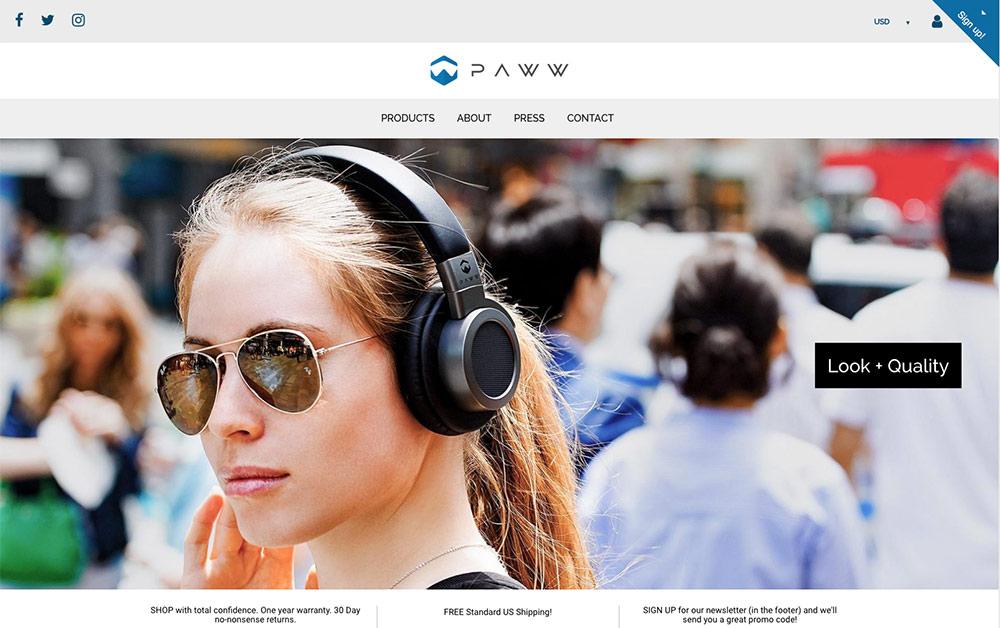 MyPAWW-website