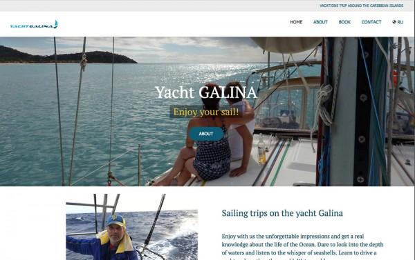 Yacht-galina-website