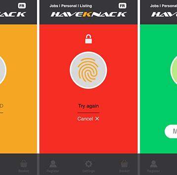 HaveKnack-UI-design-Mobile